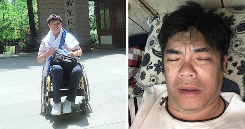「曾月入百萬」一場意外終身坐輪椅,被妻子無情拋棄輪椅養雞王開創奇蹟人生