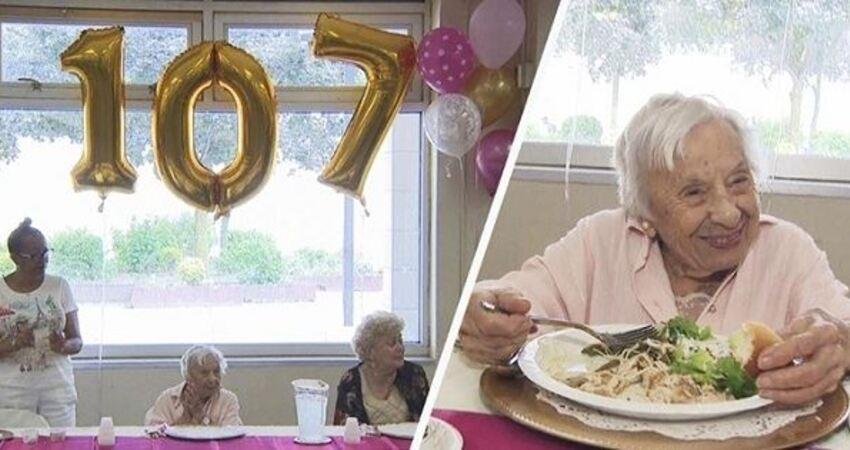 107歲嬤享受「單身一百年」分享長壽秘訣,讓廣大女性直呼勇敢!