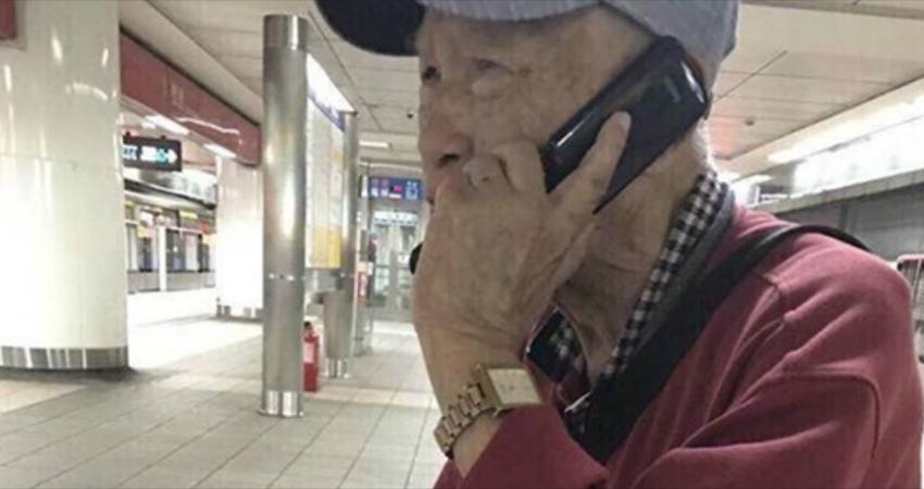 能幫我打電話嗎?陌生阿公「拿10年前名片」在捷運站求助 暖心網友幫忙「一打通哭出聲」:謝謝你...