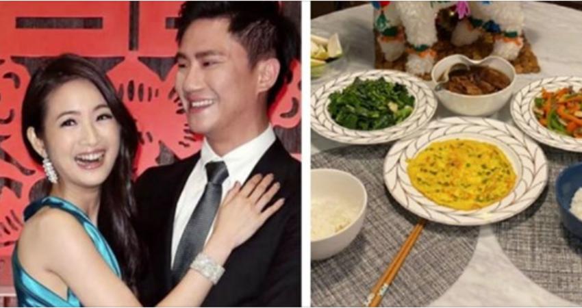 結婚5週年!林依晨「親自下廚告白老公」:謝謝你的包容❤ 網友抓包亮點「明天不敢吃早餐了」