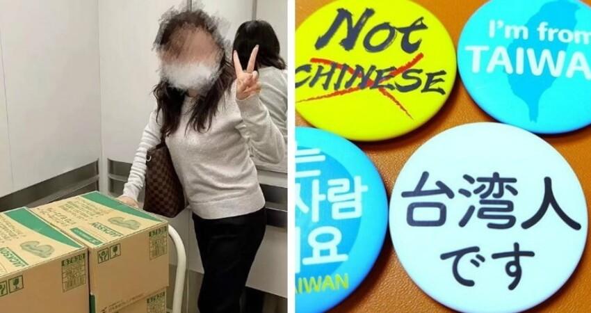 口罩被掃光!日本人排華「聽到遊客說中文」不給好臉色 一看到「我是台灣人胸章」態度秒變