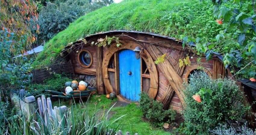 這個小鎮沒有一個居民!房子都極其矮小,現實中的童話鎮