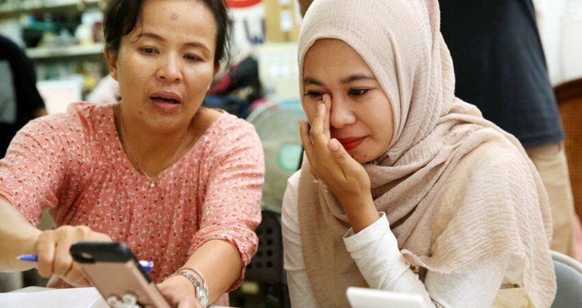印尼移工病急須移植!異鄉孤立無援「台灣人伸援手」助母女團圓 「4天募40萬醫療費」她感動落淚