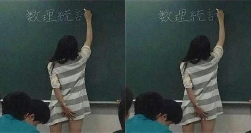 33張爆笑圖,老師以後上課穿這樣的裙子挺好!看到最後一張圖,整個人都傻了!