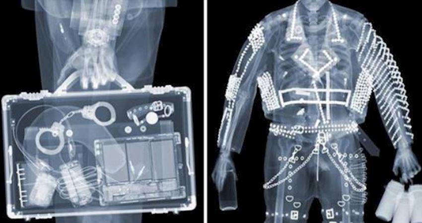 7張「通過X光機讓你尷尬爆炸」的照片,女生包包裡的棒狀物...絕對不是你想那樣!