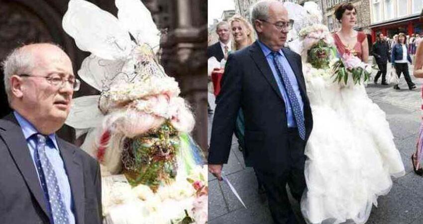 世界上最驚人的一場婚禮!新娘全身7000多個穿洞,喜嫁億萬富豪:很喜歡這樣的妻子!