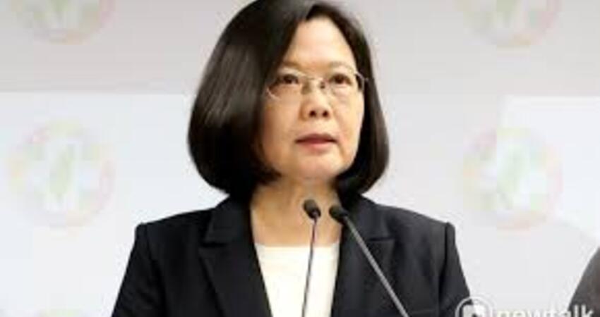 蔡喊話:團結台灣派、中華民國派