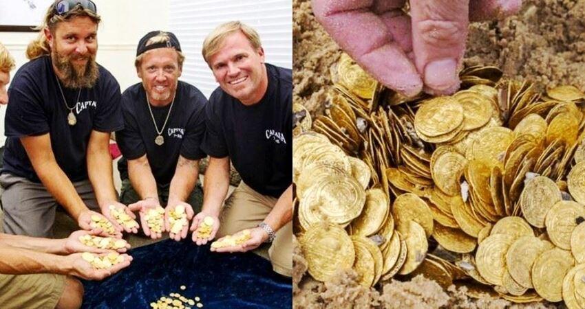 尋寶團隊打撈300年前「船難金幣」總價逾上億,重點是日期更是巧合到讓人傻眼!