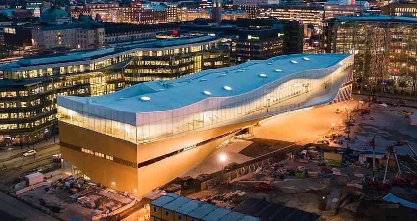 芬蘭獨立百年「豪砸35億蓋圖書館」 完美內裝再次證明為何教育世界第一