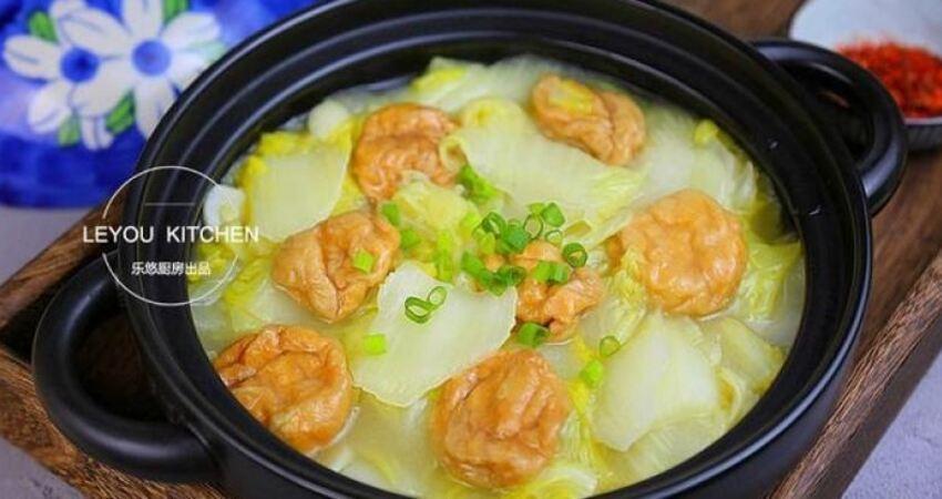 白菜做法多樣,秋冬季節天天吃都喜歡