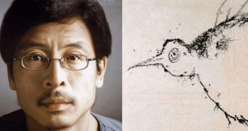 別有洞天?他畫一隻鳥「賣了82萬」被質疑是兒童水準,專家:放大5倍往鳥眼睛裡看