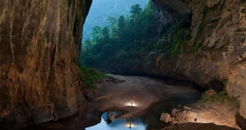 越南驚現世界最大洞穴,有湖泊、河流及森林覆蓋!