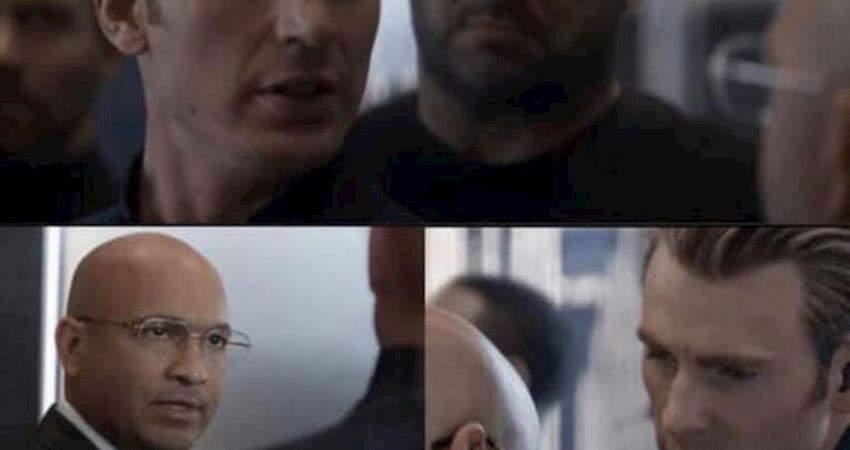 爆笑大合集!30張《美國隊長電梯梗圖》話還是別亂說免得挨揍!