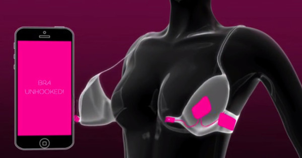 日本發明「真心胸罩」讓女孩心動才解得開