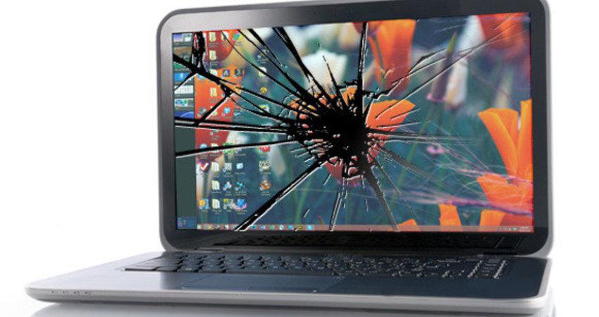意外隨時都會發生-螢幕是很脆弱的-請小心保護筆電的螢幕