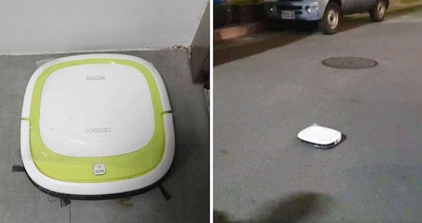 掃地機器人「離家出走」幫掃街 網友緊急協尋:已平安回家囉