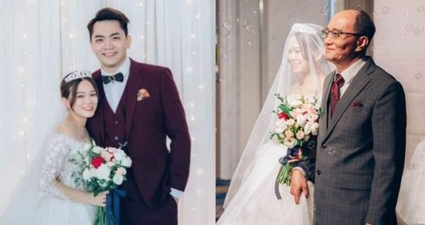 陳彥婷爸霸氣「不收聘金」:我們不賣女兒!婚禮過程大公開 爸爸「一句話」全場都哭了!