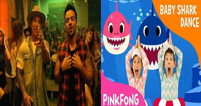 鯊魚寶寶超越Despacito,成為Youtube點擊之冠