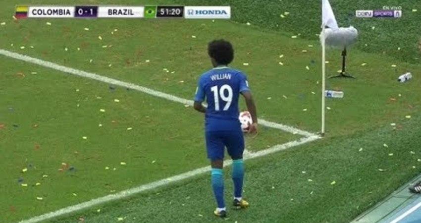「個人精華」韋利安(巴西國家隊)   VS  哥倫比亞