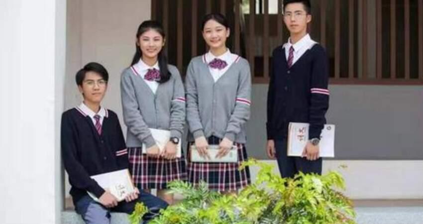 """為什麼貴族學校的女生校服是""""短裙""""?普通學校卻是長褲?要懂得"""