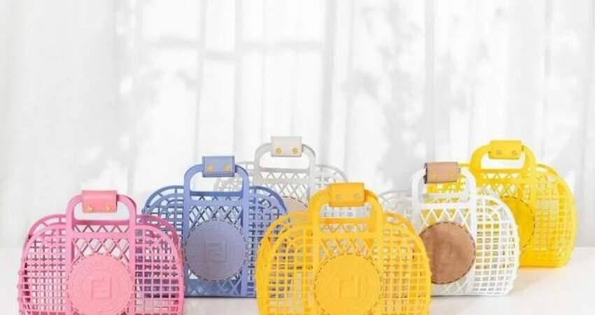 芬迪FENDI最新設計出圈,網友說像去澡堂用的籃子