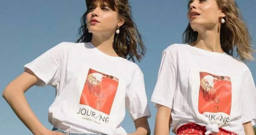 T恤+絲巾,如何穿出高級感?看完這篇輕鬆搞定40套LOOK