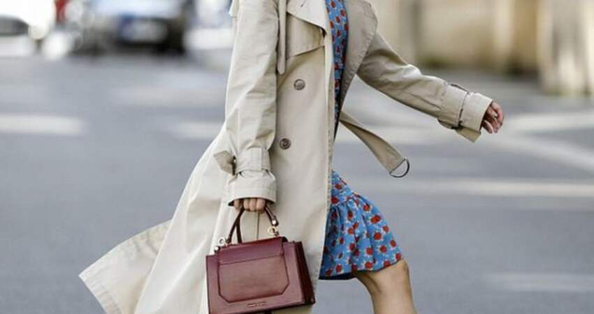 凹造型怎麼能少了風衣,越搭配越高級,優雅與時髦女性的寵兒