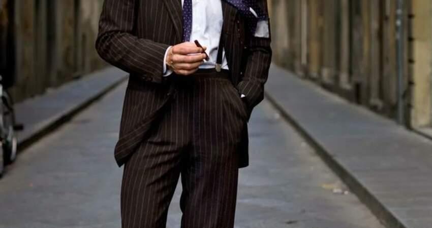 紳裝博主有很多,但像SimoneRighi這麼「狂」的還真少見