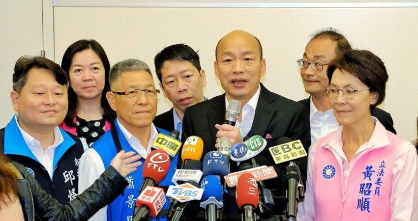 讚郭台銘有通天本領 韓國瑜:聽到他參選 覺得很開心
