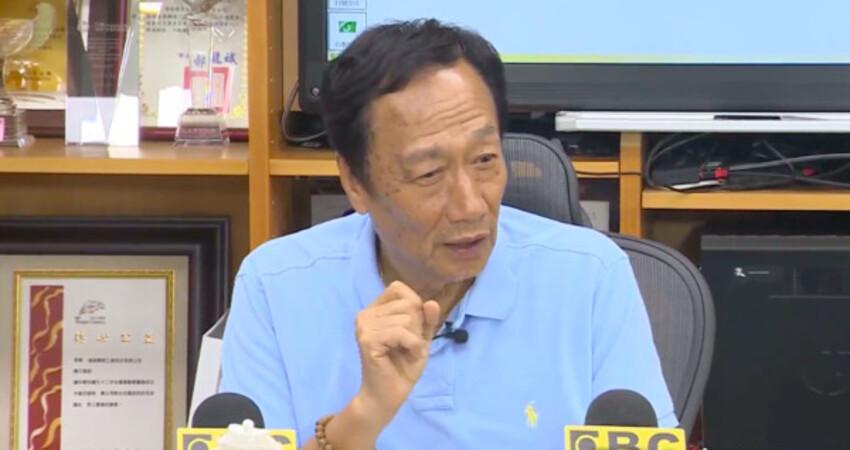 郭台銘專訪重點一次看 直呼「國民黨勝選是全民的寄託」