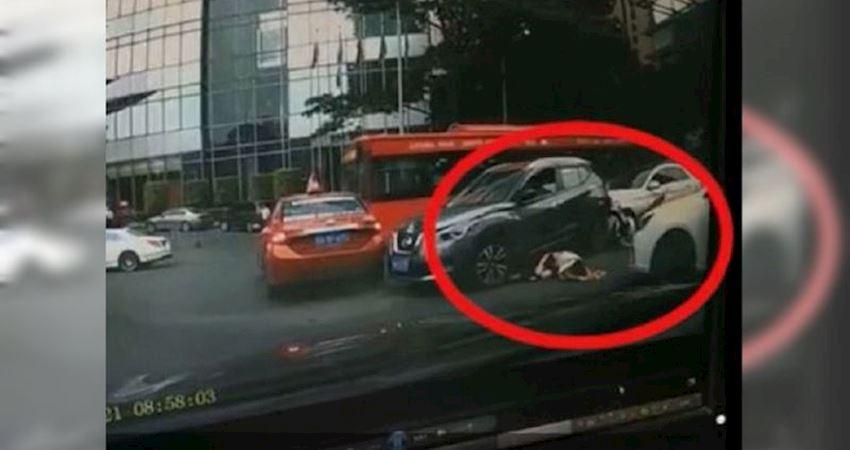 疑穿恨天高開車!陸女駕駛暴衝撞傷13人