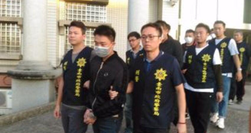 涉台南虛擬貨幣交易搶案 3嫌裁定羈押禁見