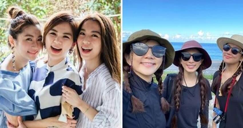 S.H.E合體遊花蓮!「綁辮子、戴墨鏡」彷彿三胞胎:在一起就是最美的風景❤