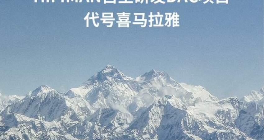米8萬&中國芯,HiFiMan喜馬拉雅自研R2RDAC來了