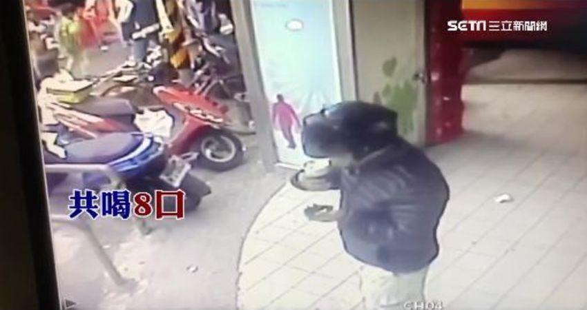 男偷喝咖啡嗆少給 店員:我又沒做錯