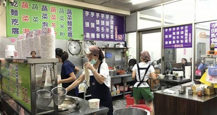 基隆人氣蔬食麵疙瘩 嗜肉族驚天嗑菜