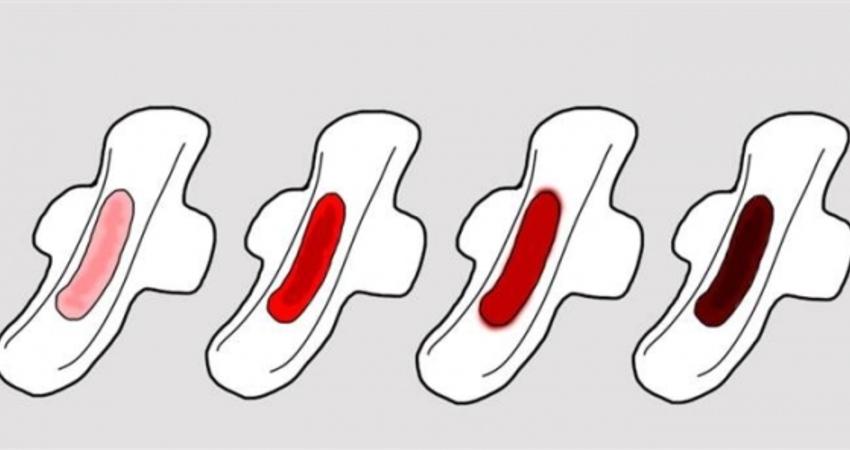 女人「月經顏色」代表健康程度!出現橘紅色要特別注意!(((女生必看)))