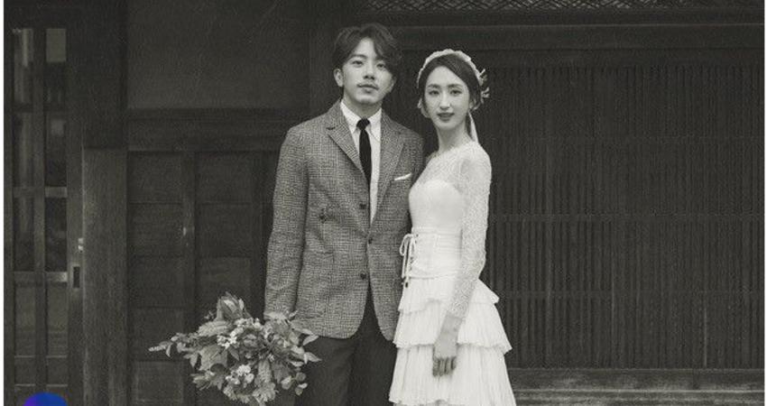 柯佳嬿和坤達的日系小清新婚紗照根本所有女人夢想!揭露脫俗唯美的MS IDEAS新娘白紗設計細節大公開