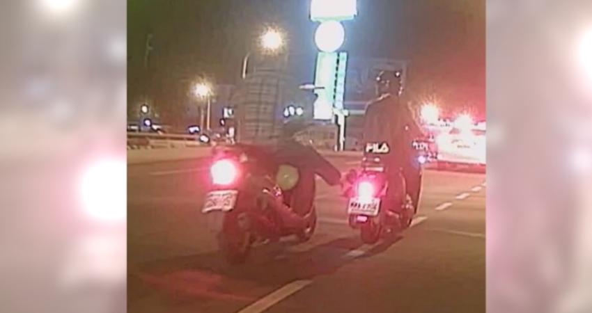 惡男突伸「鬼腳」踹車 逼停女騎士還動手打人