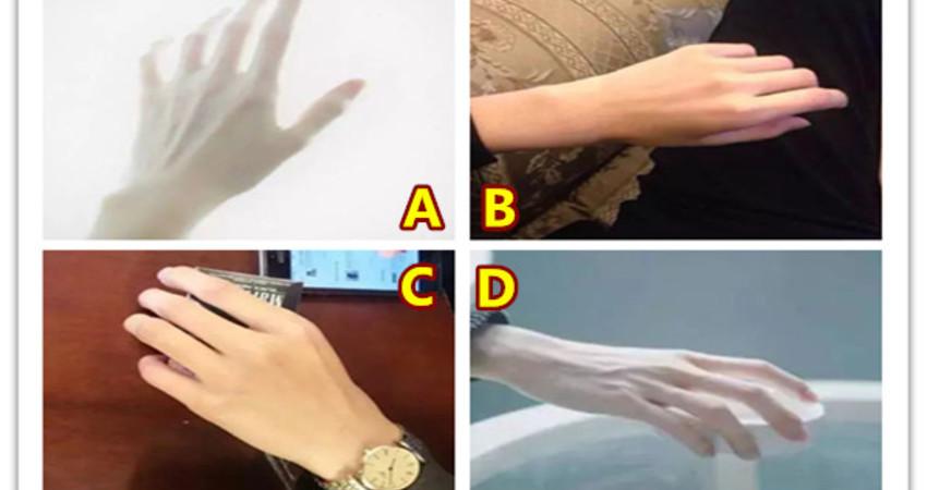 你会握住哪只手?测TA对你是真爱还是将就?