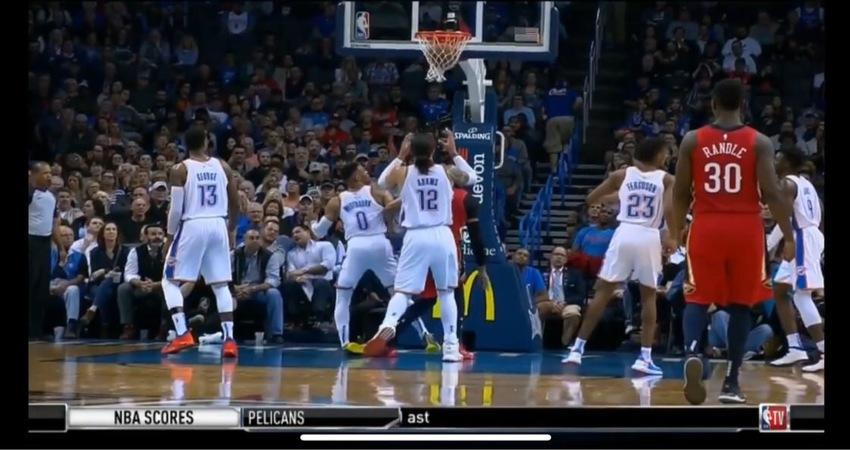 Westbrook腳踝扭傷 影片+狀況更新