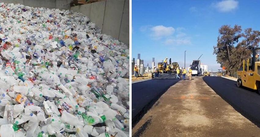 英國公司用「回收塑膠鋪公路」專家讚:比瀝青好用且強度提高60%,還為環保盡了一份力!