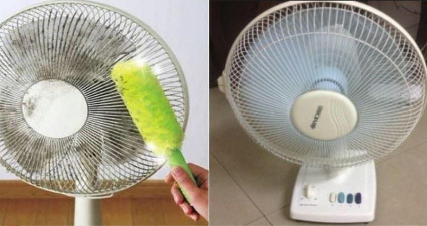 風扇髒了難清理?教你幾招,立馬輕鬆潔淨無塵!