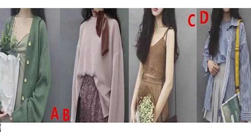 心理測試:你朋友圈子變小的原因,從喜歡的服裝可以看出!