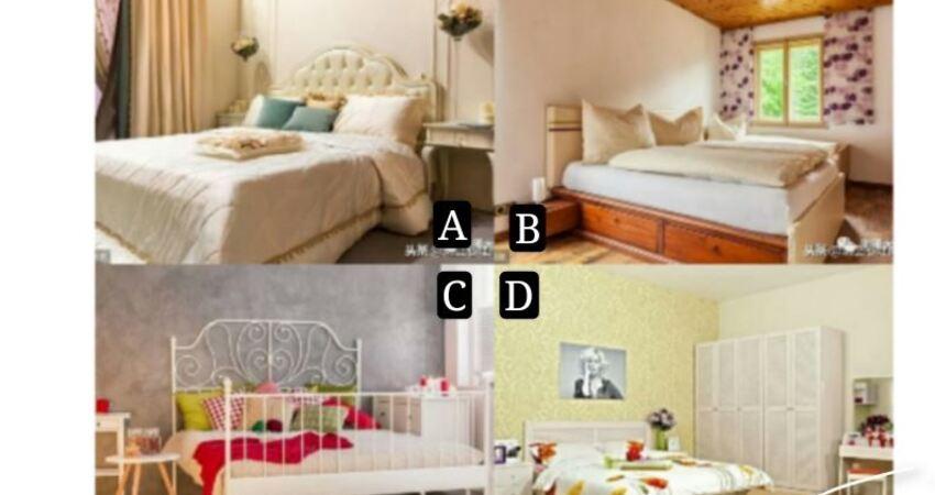你最喜歡哪個房間?測你要熬多久才能苦盡甘來?