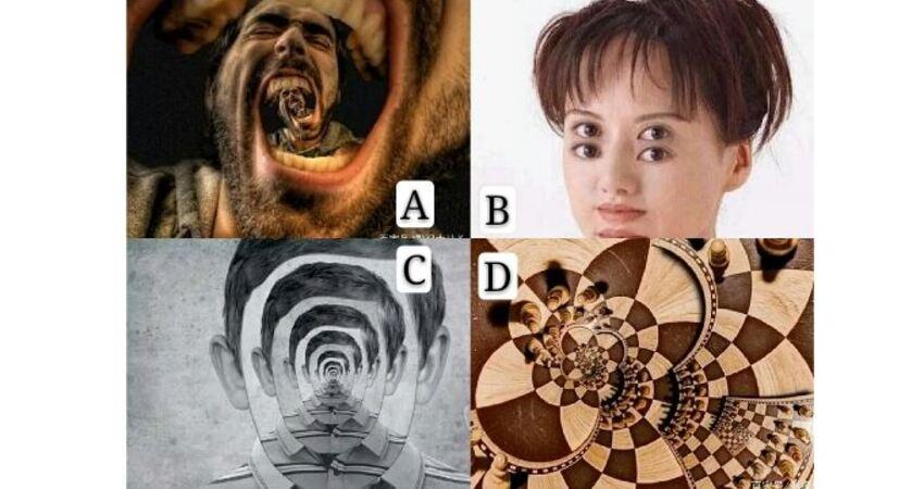 哪福視覺圖會讓你覺得不舒服?測試你的脾氣有多大?
