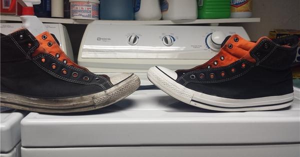 帆布鞋穿久好髒,但白色膠底好難清洗...「這種東西」會讓你從此不再煩惱!
