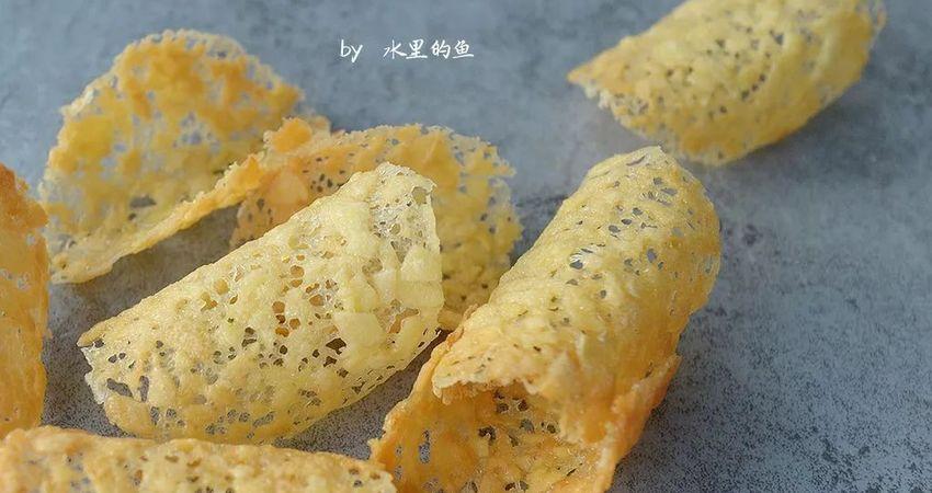 又薄又脆又甜的蕾絲杏仁瓦片不想嘗嘗?