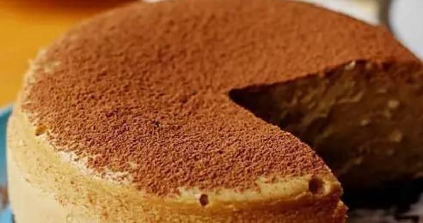 卡布奇諾紐約芝士蛋糕(重乳酪蛋糕)