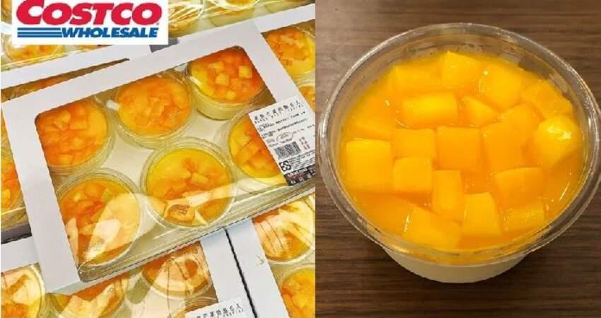好市多芒果乳酪回歸囉!夏季限定的鮮甜芒果搭配雪白乳酪,網友:「比草莓乳酪還好吃」